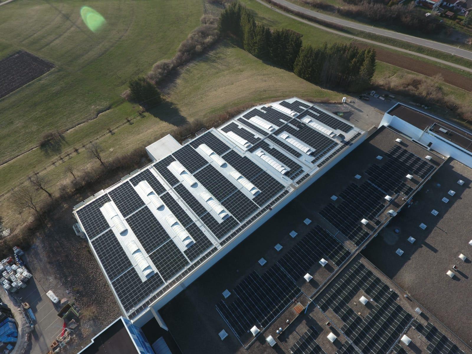 750 kW PV-Dachanlage in Wellendingen
