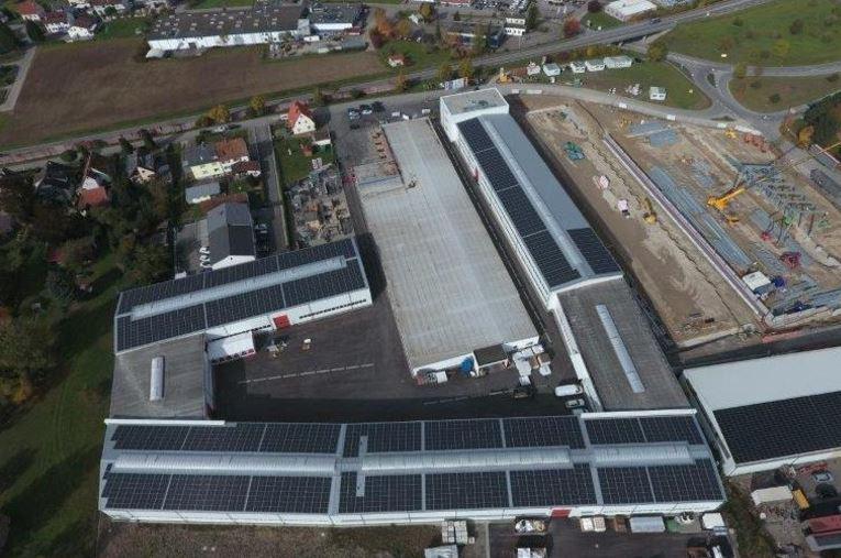 750 kW PV-Dachanlage in Deißlingen