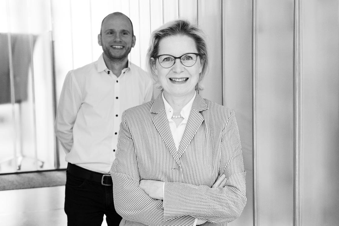 Dr. Beate Fietze und Dr. Sebastian Kunert