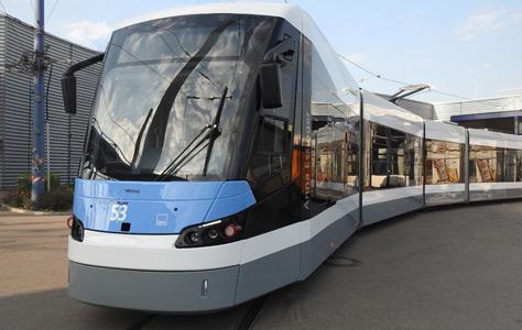 Neue Strassenbahn für Ulm