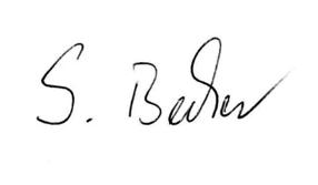 Unterschrift Stephan Becker-Sonnenschein