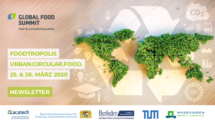 Teilnehmer des Global Food Summit 2019