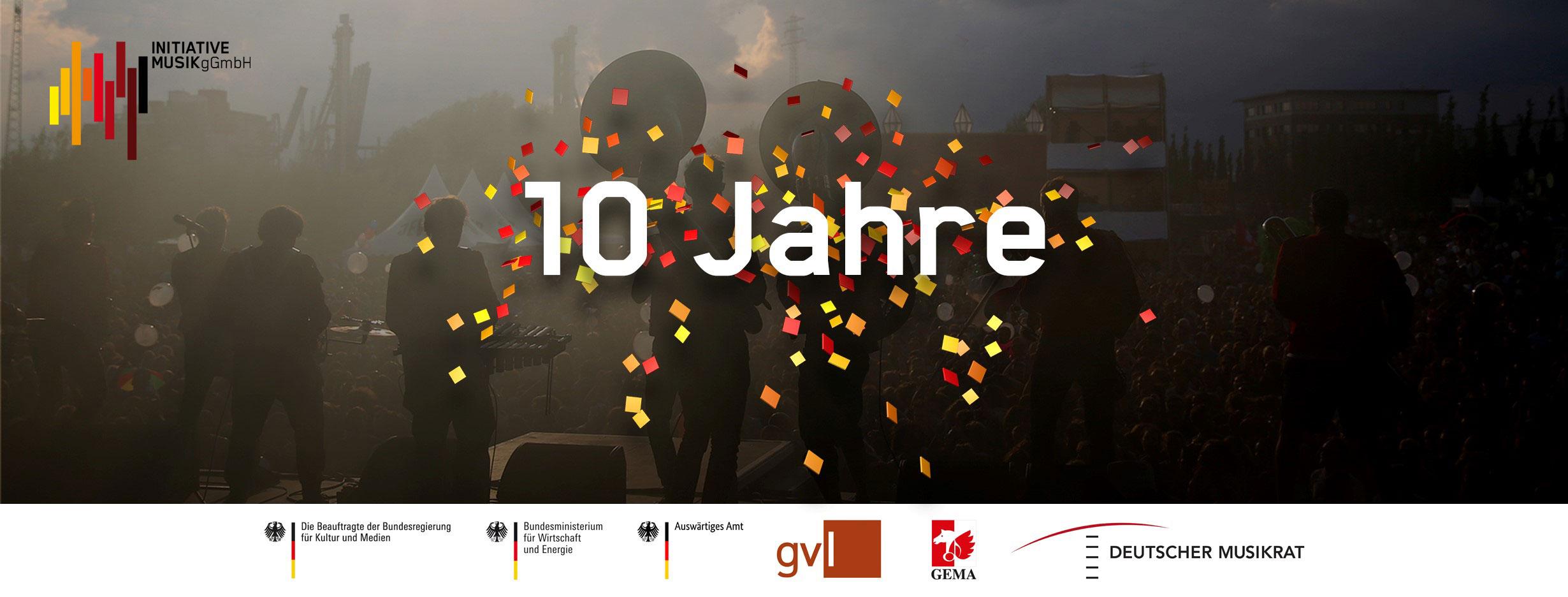 10 Jahre Initiative Musik
