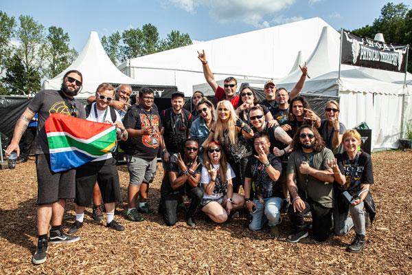 Wacken 2019 - Treffen mit Doro Pesch