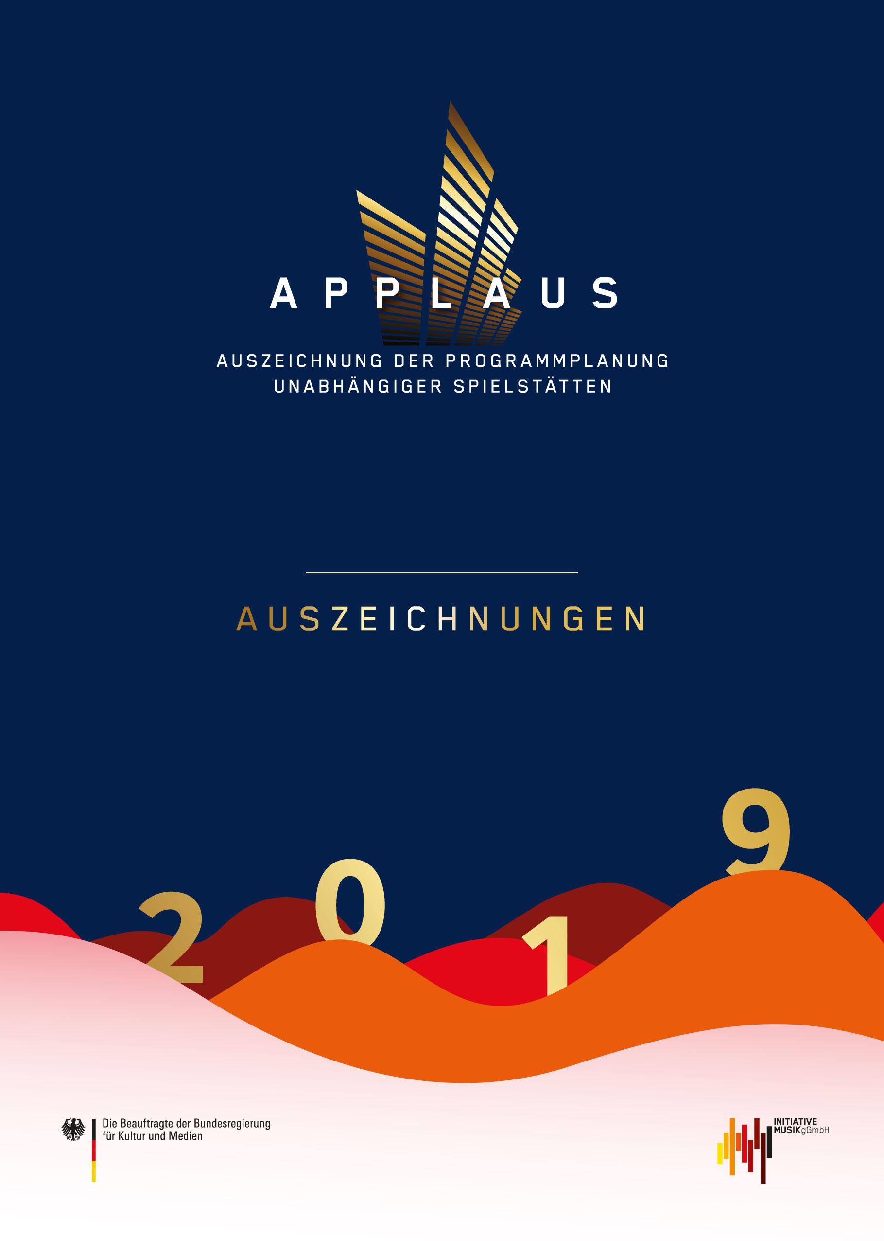 APPLAUS Auszeichnungen 2019