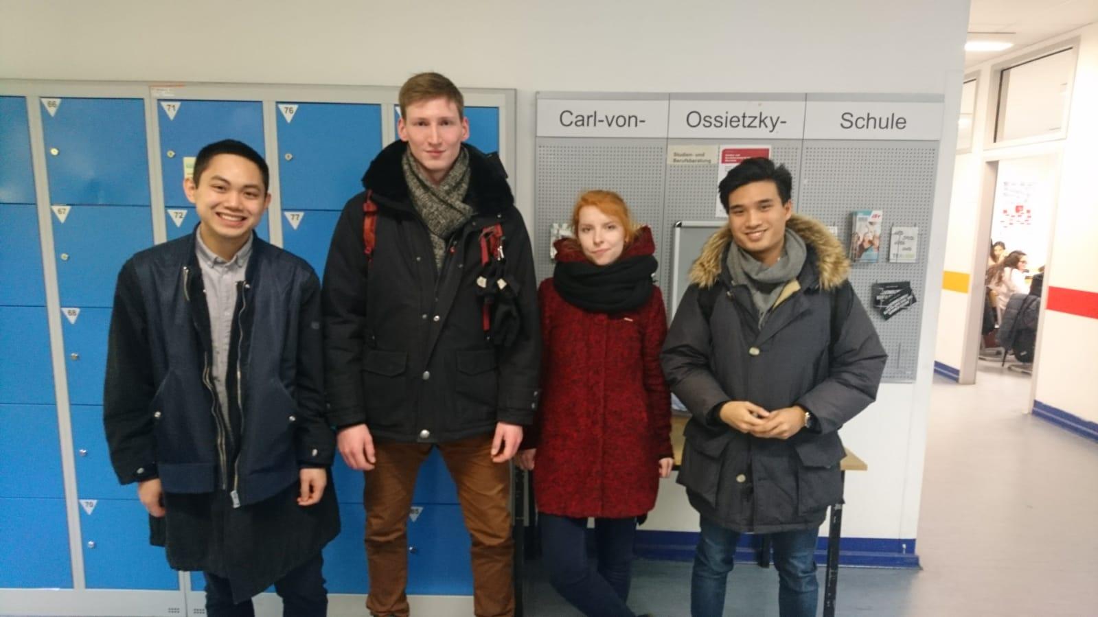 Schulbesuch Berlin