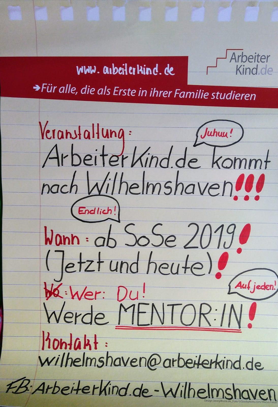 Plakat Wilhelmshaven