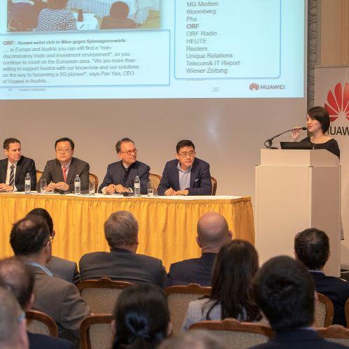 Huawei wird ACBA Mitglied