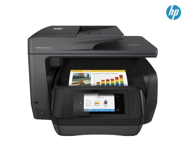 HP Officejet Pro 8725 4-in-1 Tintenstrahl Multifunktionsdrucker