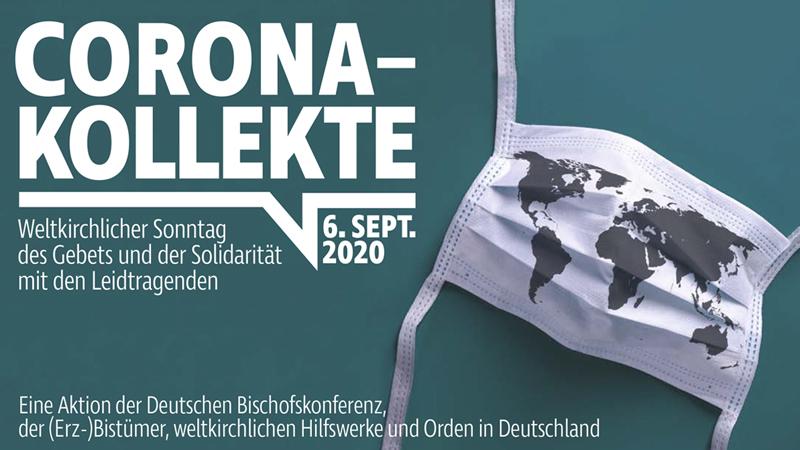 Plakat Corona-Kollekte 06.09.2020