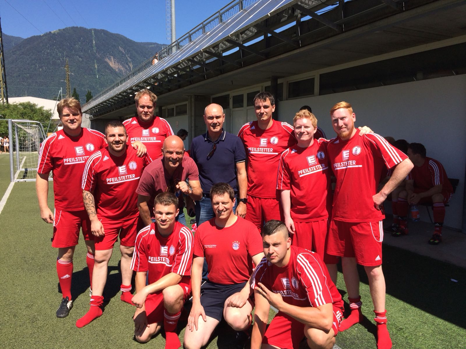 RWT-Team mit Stephan Lehmann und Raimond Aumann