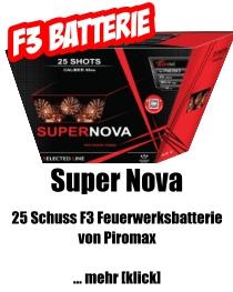 Piromax F3 Feuerwerksbatterie *Supernova*
