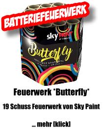 Feuerwerk *Butterfly* von Sky Paint
