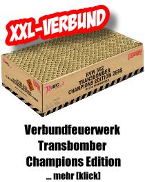 Verbundfeuerwerk *Transbomber Champions Edition*
