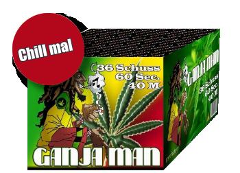 *Ganja Man* - Feuerwerksbatterie von PyroFactory