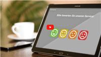 Die Bewertungs App für Schnellumfragen von promomasters