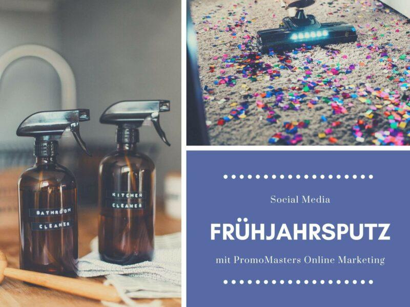 Social Media Frühjahrsputz