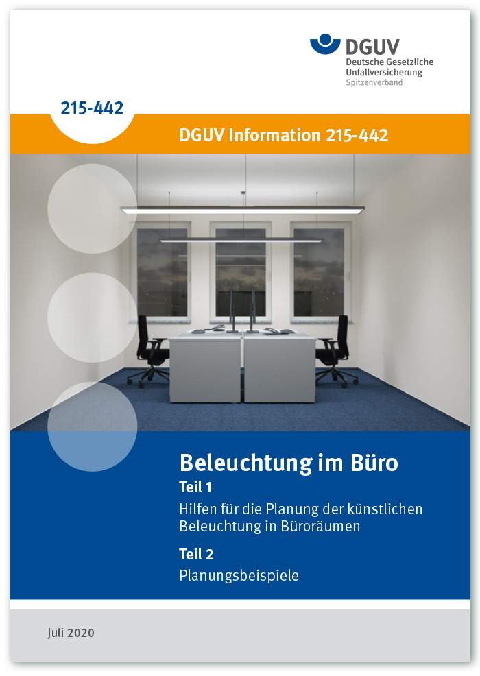 DGUV Information: Beleuchtung im Büro