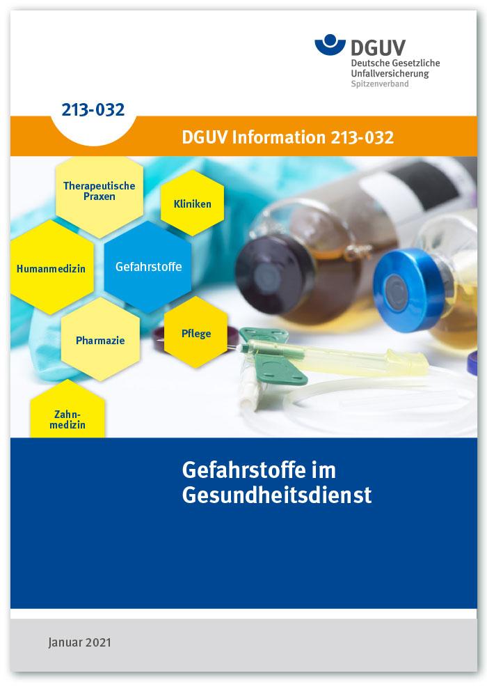 DGUV Information 213-032 – Gefahrstoffe im Gesundheitsdienst