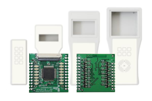 Standard Auswerte-Elektronik für kapazitive Eingabesysteme