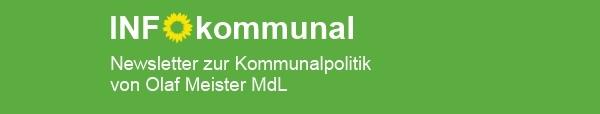 Info kommunal Newsletter Kommunalpolitik von Olaf Meister