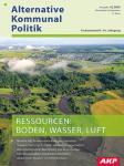 Titelblatt AKP Ressourcen: Boden, Wasser, Luft