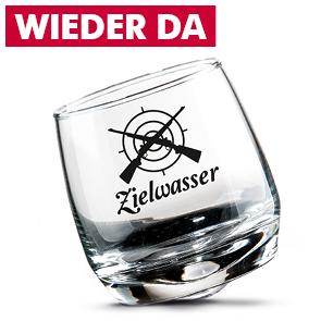 """Wackelglas """"Zielwasser"""""""