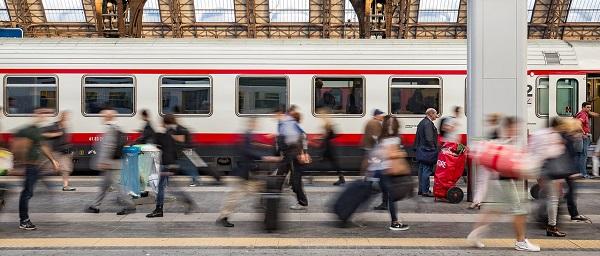 Bahnhof in Mailand