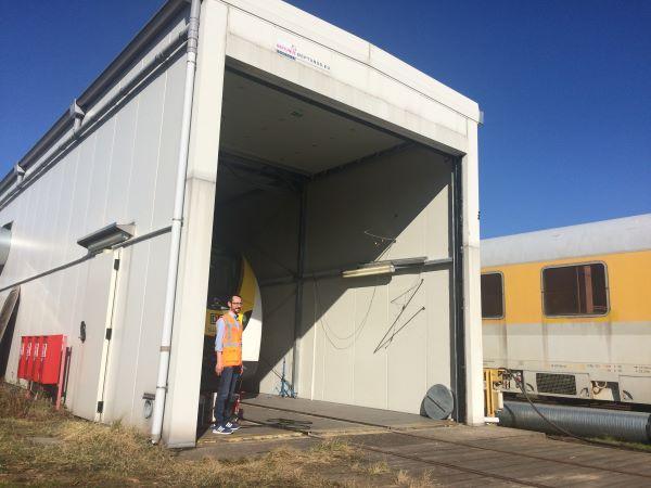 MEikE, die Klimakammer der DB Systemtechnik
