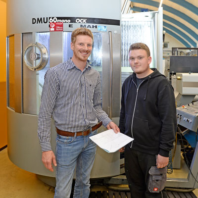 Ausbildung in der Reuter Technologie GmbH