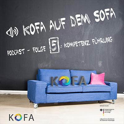 KOFA auf dem Sofa Cover