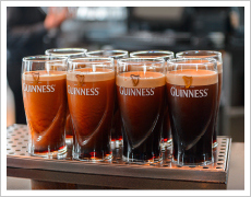 A Guinness against buoyancy