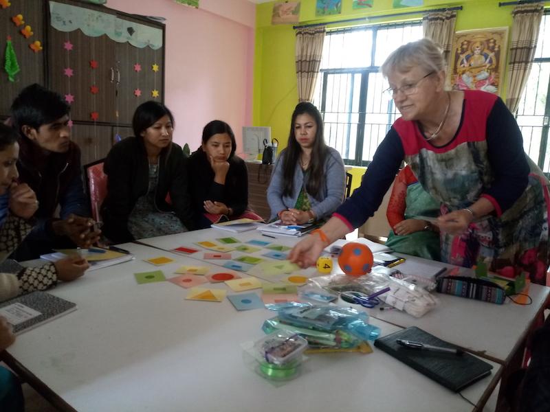 Lehrerfortbildung mit Ingrid Patzsch
