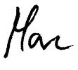 Unterschrift Marc