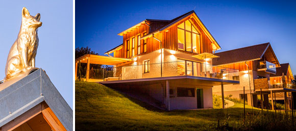 Chalets im Golden Hill