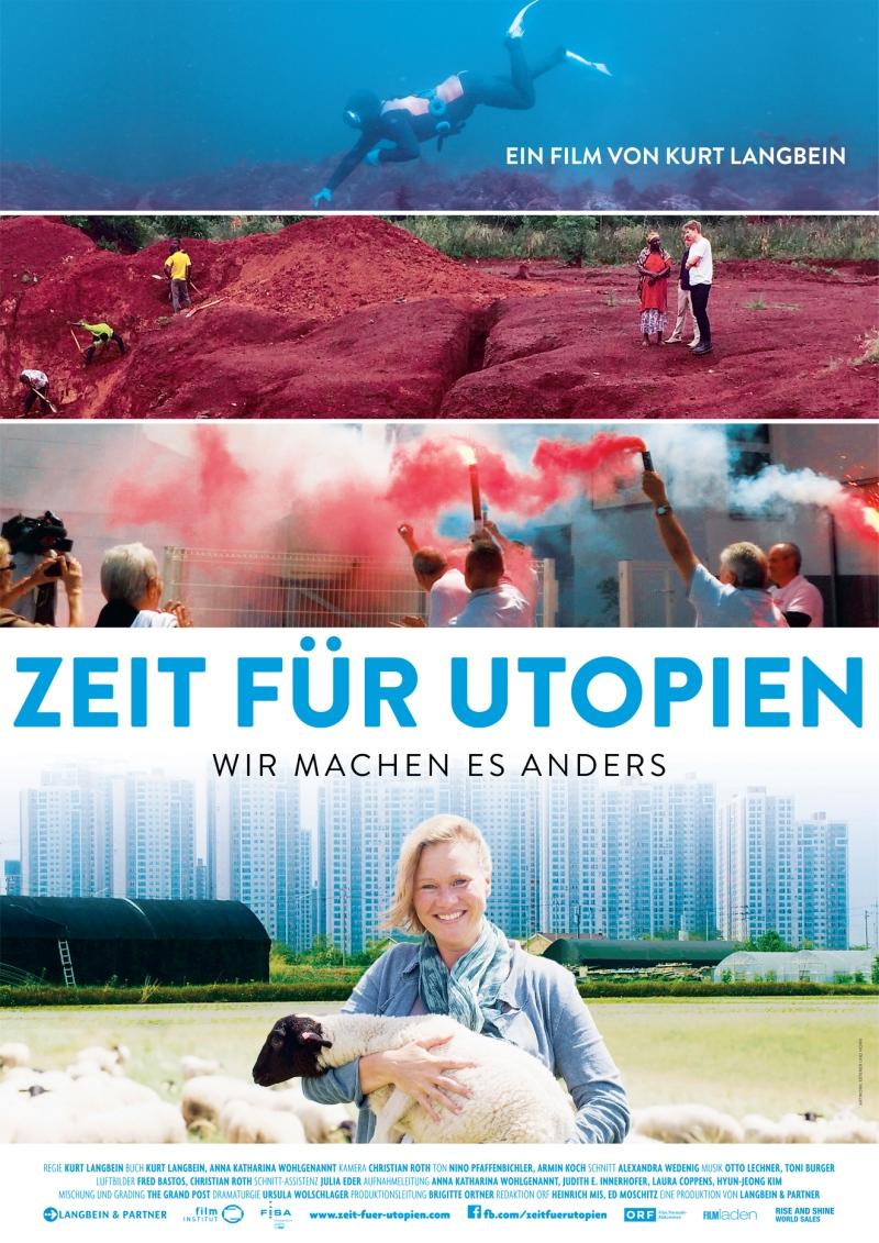 Plakat Film Zeit für Utopien
