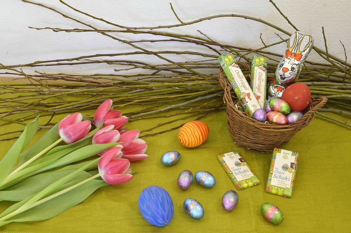 Faire Ostern aus dem Weltladen