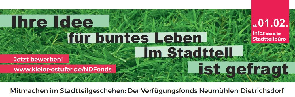 Banner Verfügungsfonds Neumühlen-Dietrichsdorf