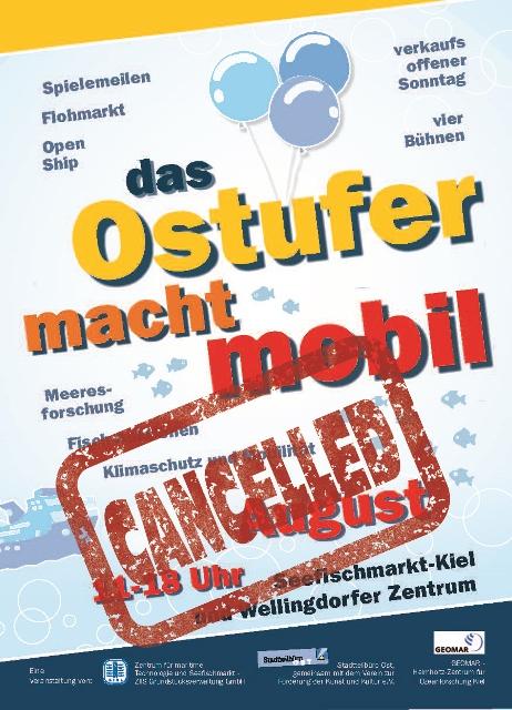 Plakat von Ostufer macht mobil