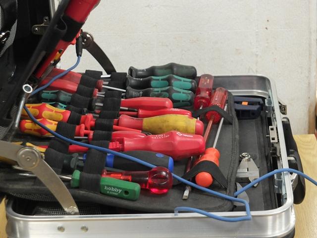Reparaturcafé Werkzeugkoffer