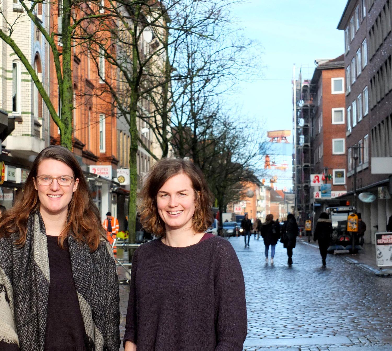 Foto von Rebecca Peterson-Perry und Lea Lükemeier