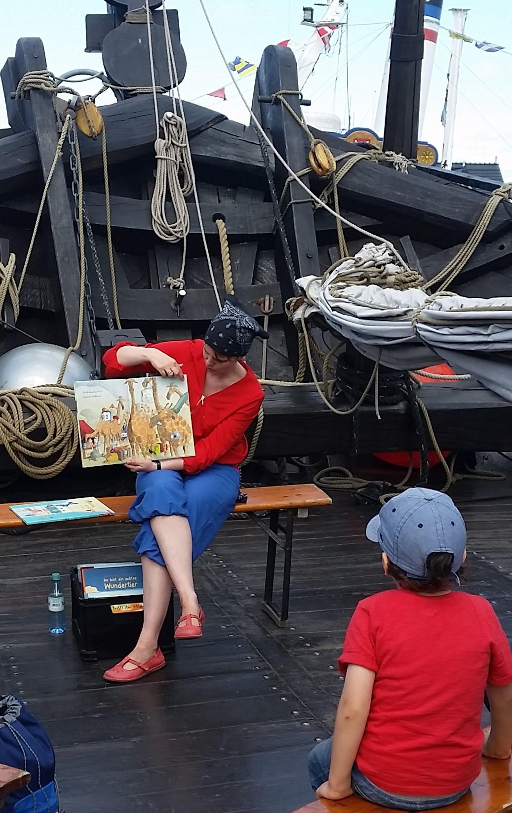 Lesungen am Meer für Kinder