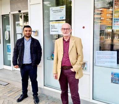 Farhad Omar und Eckhard Reiser