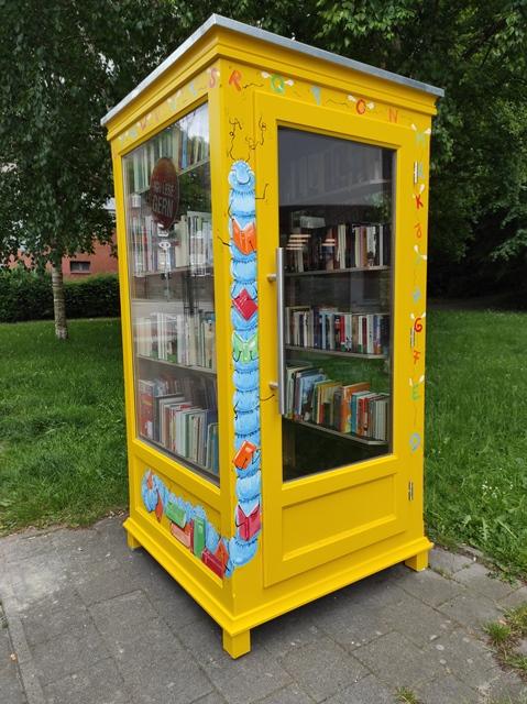 öffentlicher Bücherschrank für Wellingdorf