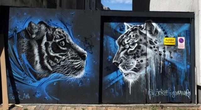 street art Elisabethstrasse 112