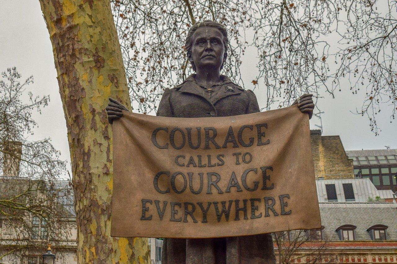 Mut ruft überall Mut hervor