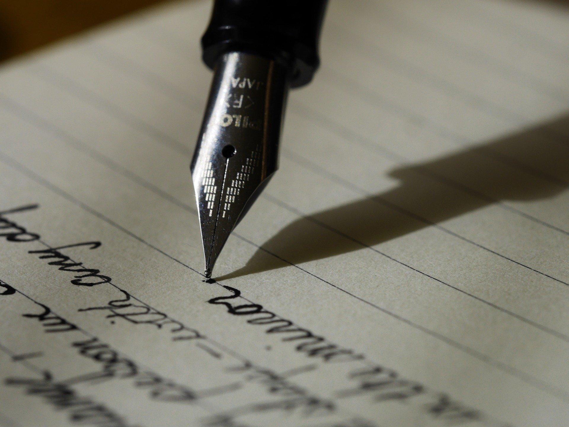 Schreib doch mal wieder