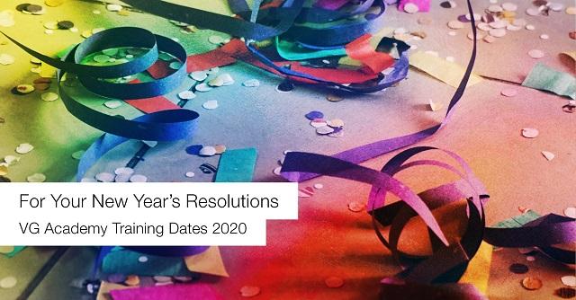 VG Academy Training Dates 2020