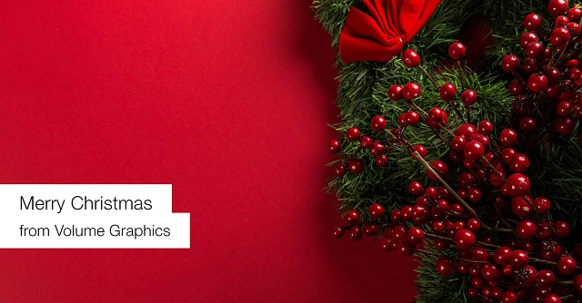 Merry Christmas and a happy new year from Volume Graphics