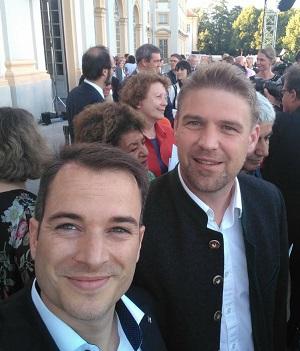 Markus Raschke und Tobias Ruff (Söder im Hintergrund)